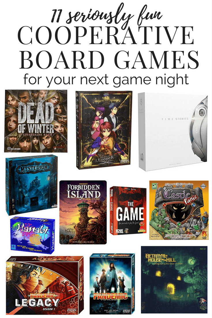 Cooperative Board Games To Play With Your Friends Family Or On Date Night These Are The Best Board Games Board Games Board Games For Couples Fun Board Games
