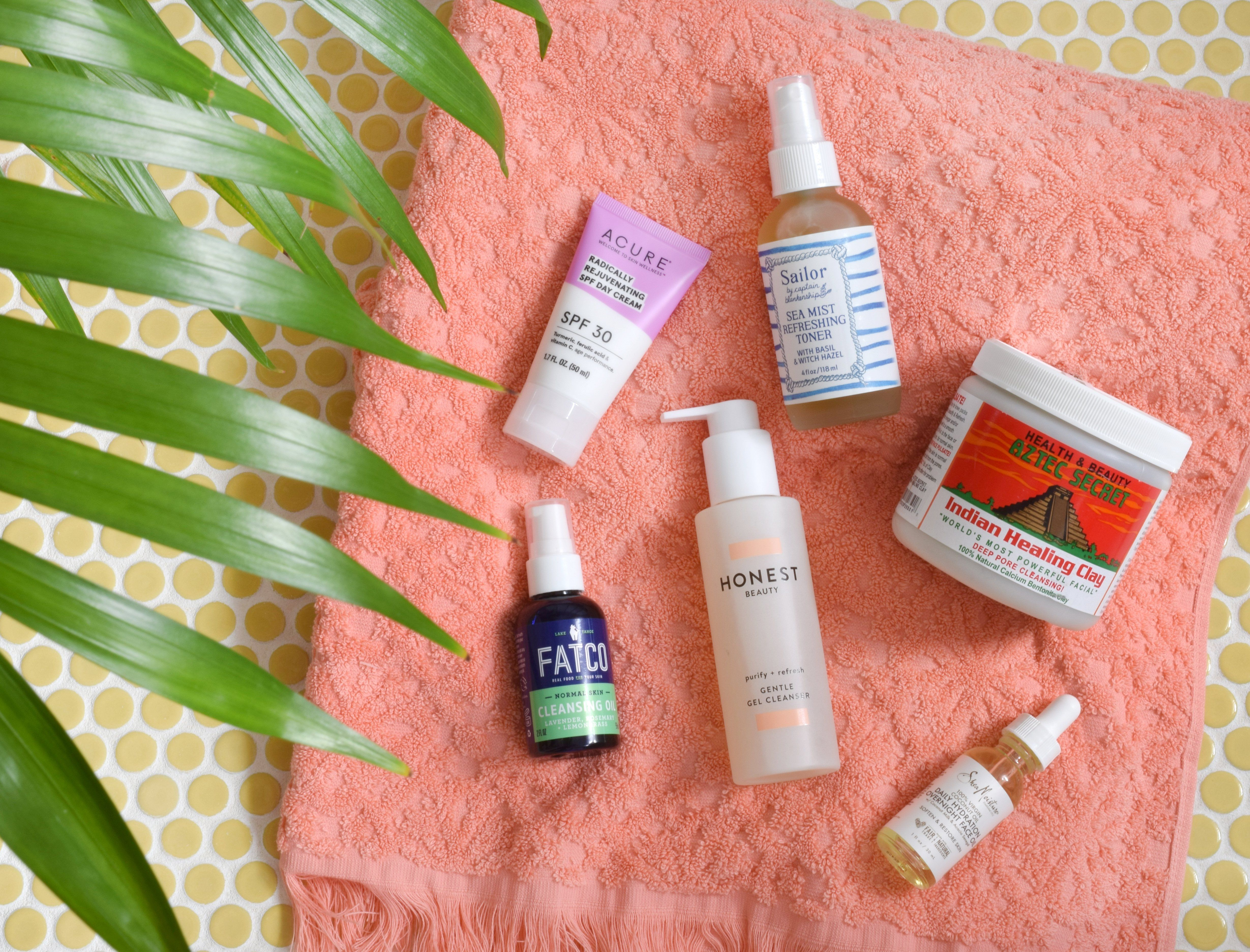 Six Step Natural Skincare Routine From Target Natural Skin Care
