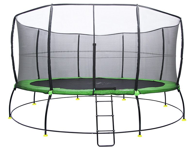 16 round trampoline for all your backyard toys visit