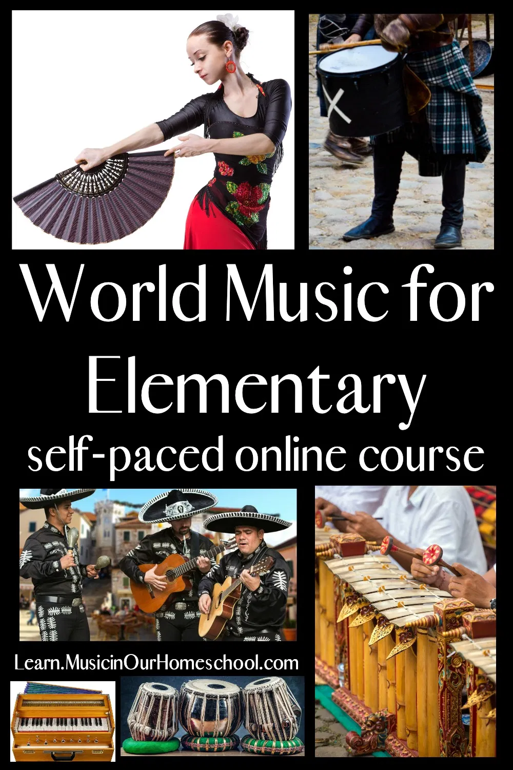 World Music for Elementary The Online Course Where Music