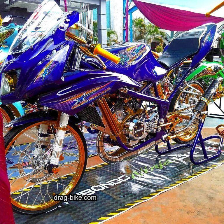 55 Foto Gambar Modifikasi Ninja Rr Kontes Street Racing Drag Bike
