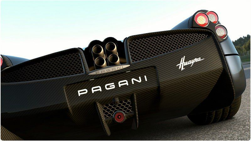 The Pagani Huayra