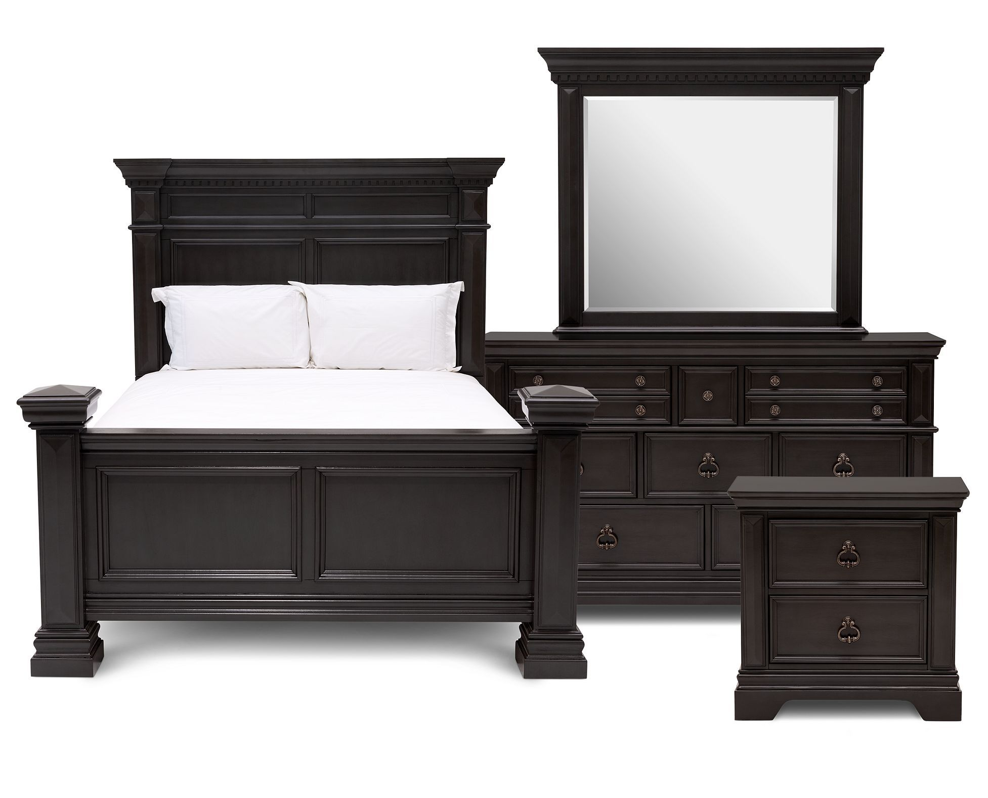 Super Greenhill 4 Pc Bedroom Set Furniture Row Lets Decorate Download Free Architecture Designs Scobabritishbridgeorg