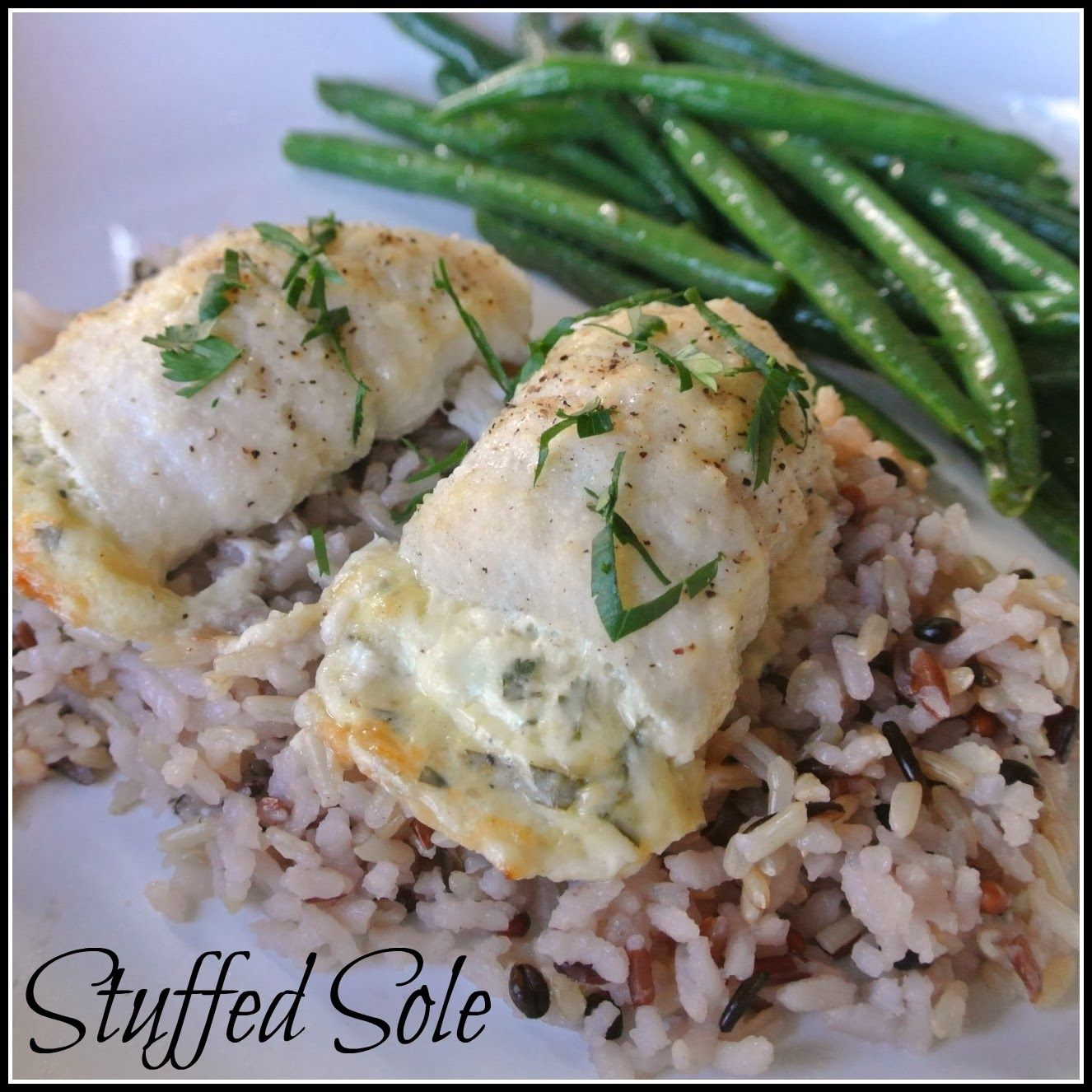 Mom, What's For Dinner?: Stuffed Sole