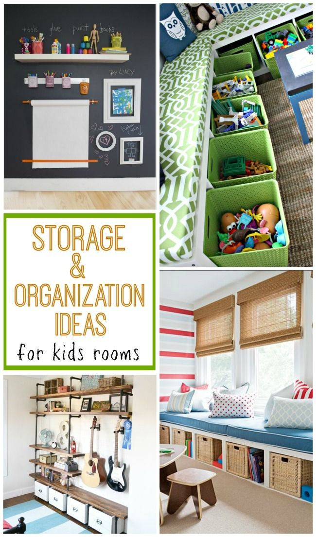 Check Out These 10 Great Ideas For Storage And Organization In Kids Rooms To Help