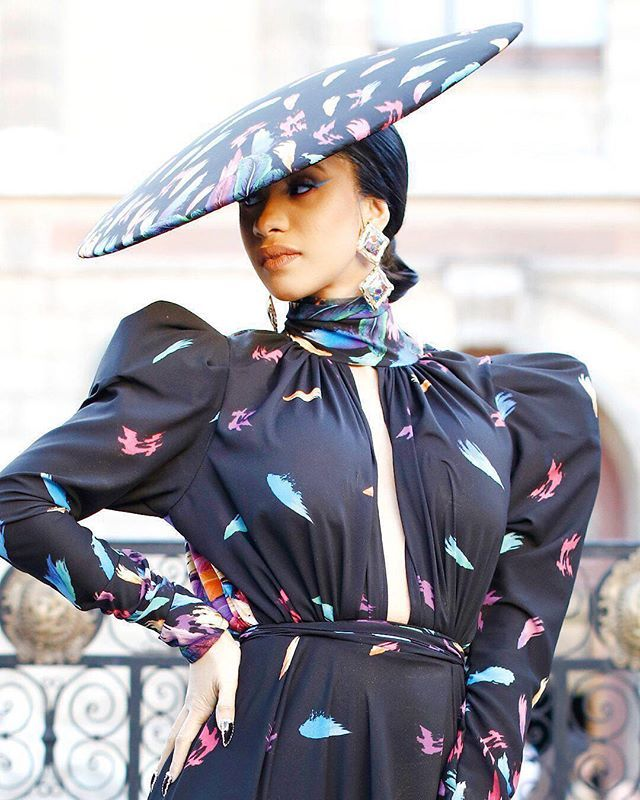 News Flash! #cardib Is Serving And We Are Here For It