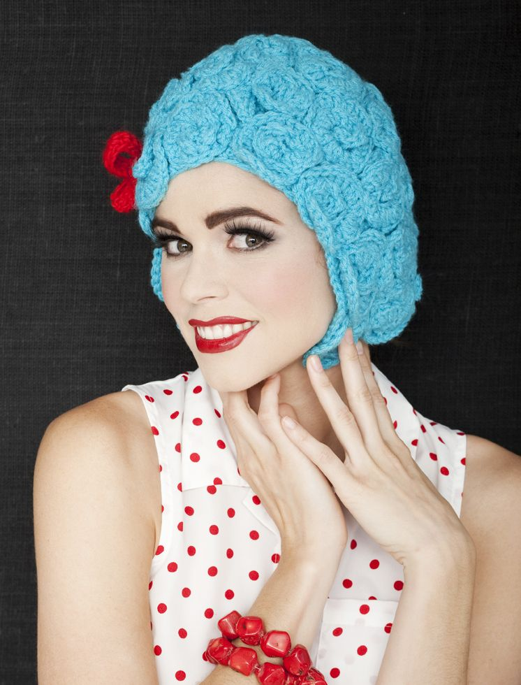 Download The Free Pattern For A Crochet Mod Wig From Crochet Today