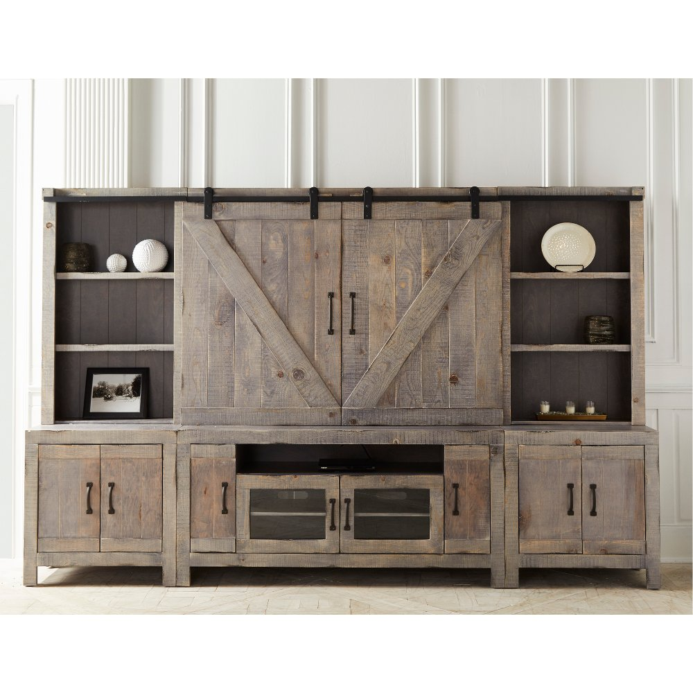 Rustic Farmhouse Entertainment Center Devonshire in 2020