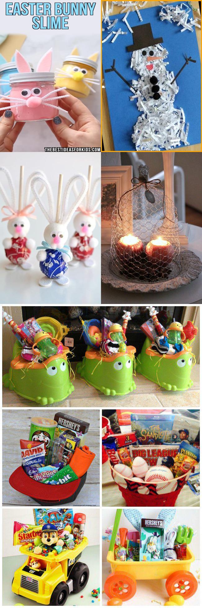 Best Easter Crafts For Toddlers Basket Ideas 2021 12 Creative Easter Basket Ideas In 2021 Creative Easter Baskets Toddler Crafts Easter Crafts