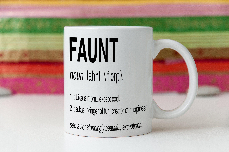 auntie gift, best aunt ever, custom coffee mug, cute ...