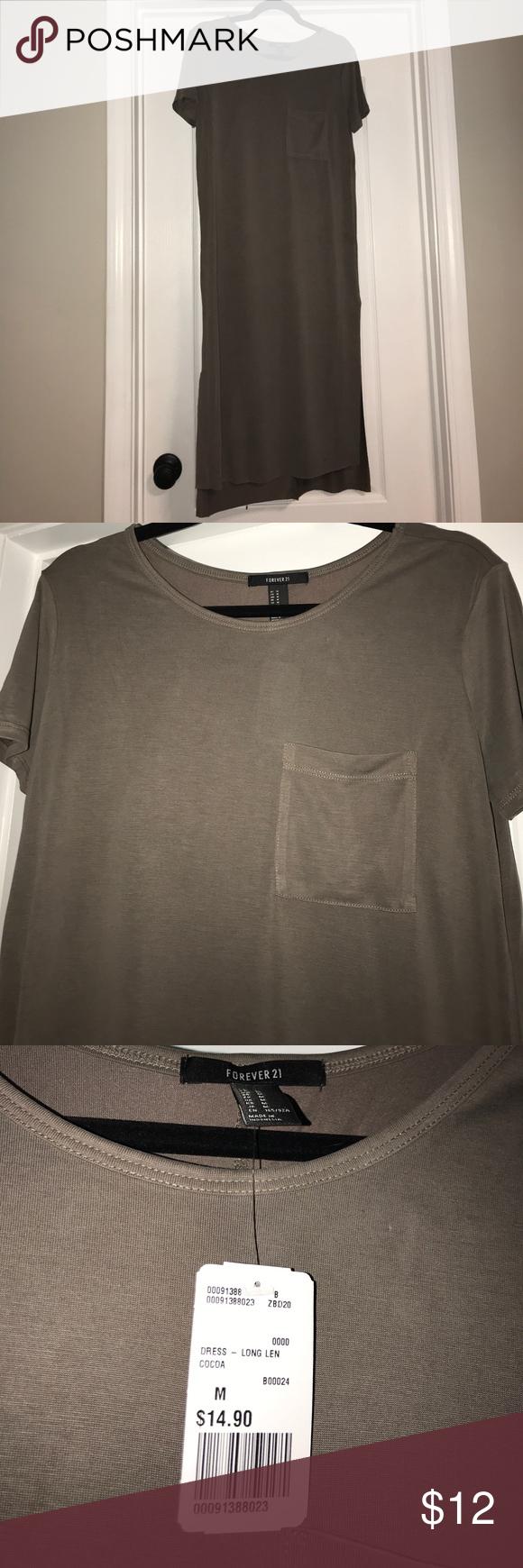 Brand new forever tshirt dress with pocket st dresses st