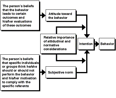 The Theory of Reasoned Action (TRA) applied to social