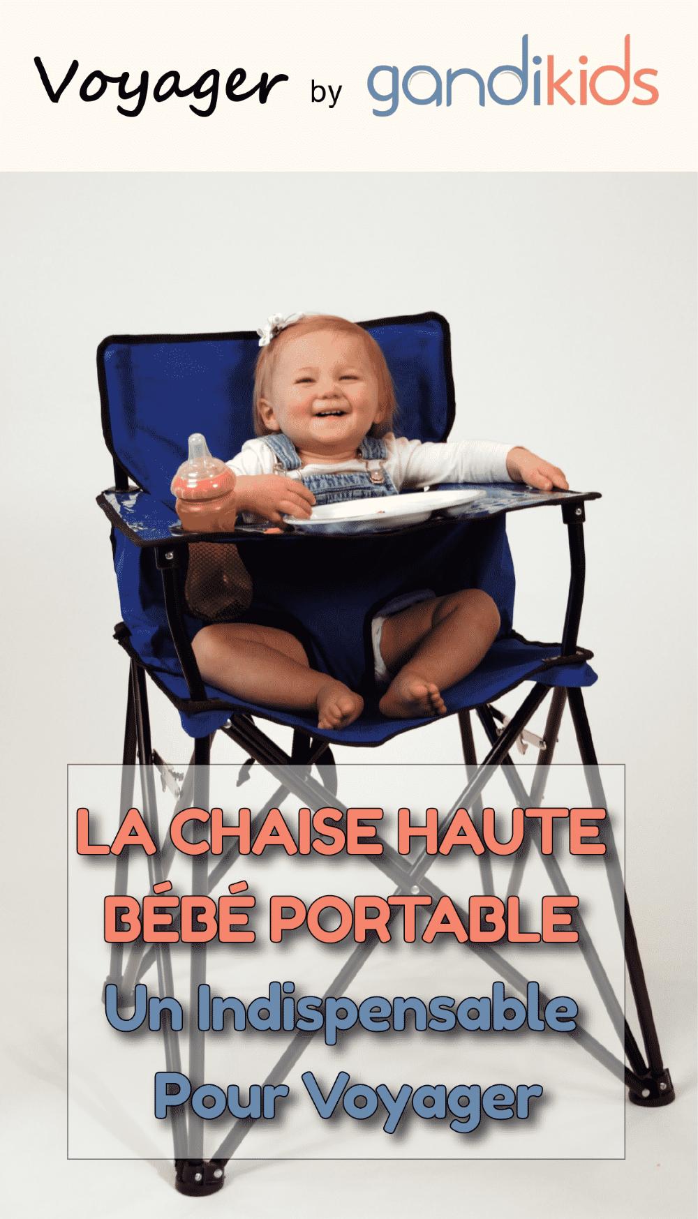 Epingle Sur La Chaise Haute Voyager