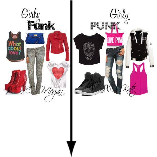 Girly Funk and Girly Punk by shoppingandsoccer on Polyvore ...