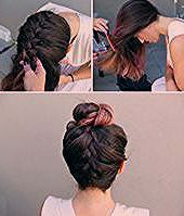 Hair Ideas For Prom Half Up Braids Waves 39 Ideas #Braids half up half down veils