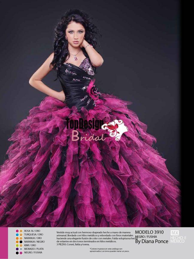 Lujo Vestidos De Cóctel De Color Rosa Y Negro Bandera - Vestido de ...