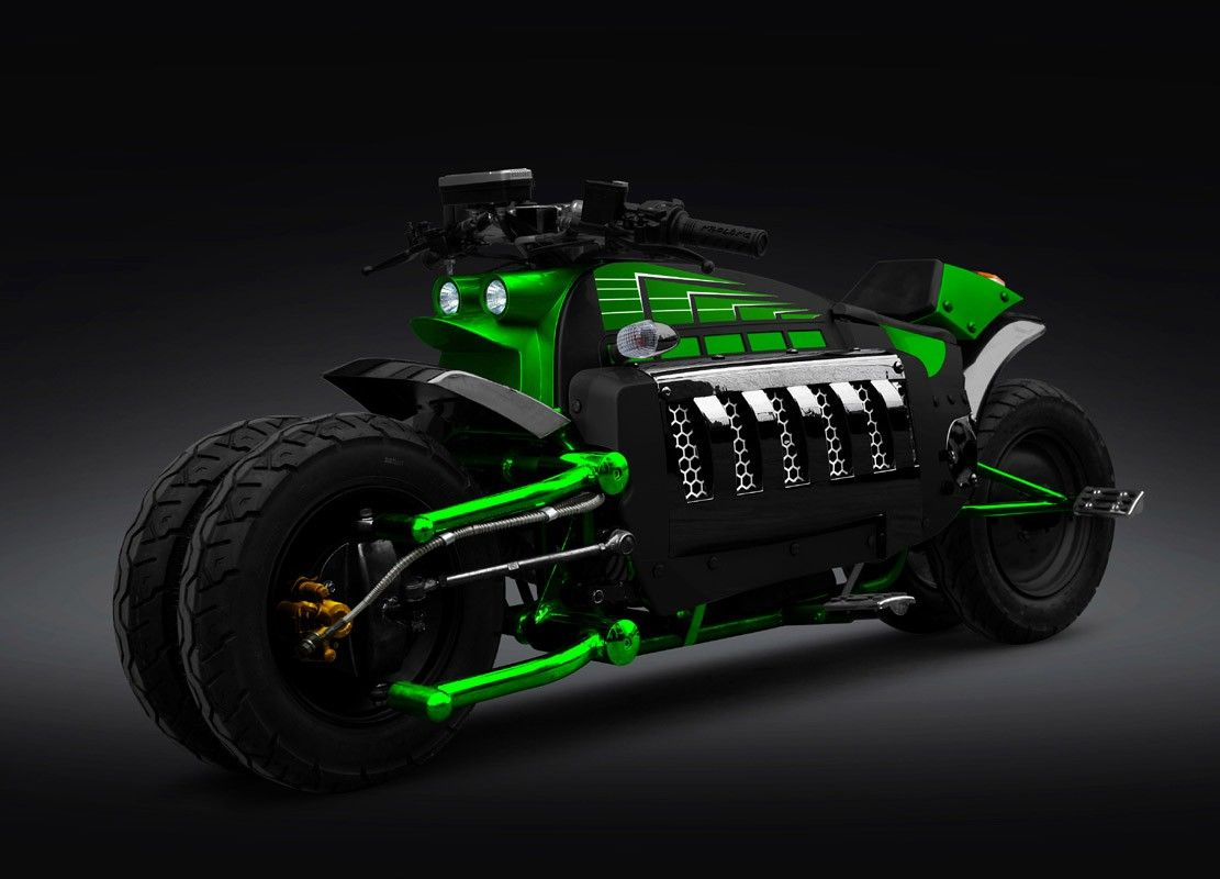 Dodge Tomahawk 560 Km Hr Fastest Motorcycle In The World Dodge