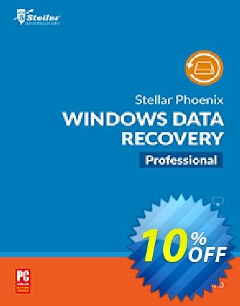 903e49c2a1c4 Stellar Phoenix Windows Data Recovery Pro Coupon code (10% OFF) - October  2018. - Listed price    99.99 - Current price    89.99 ( 10.00 save for  this ...