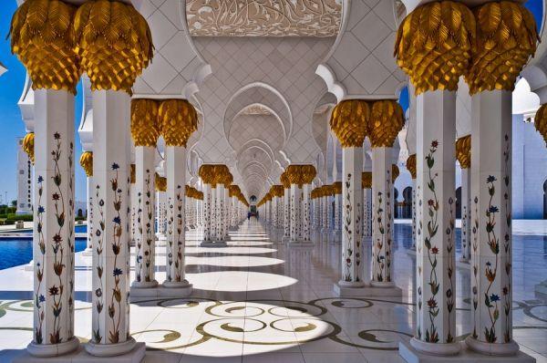 Que Es Una Mezquita Pinterest: GRAN MEZQUITA DE ABU DABI UNA DE LAS