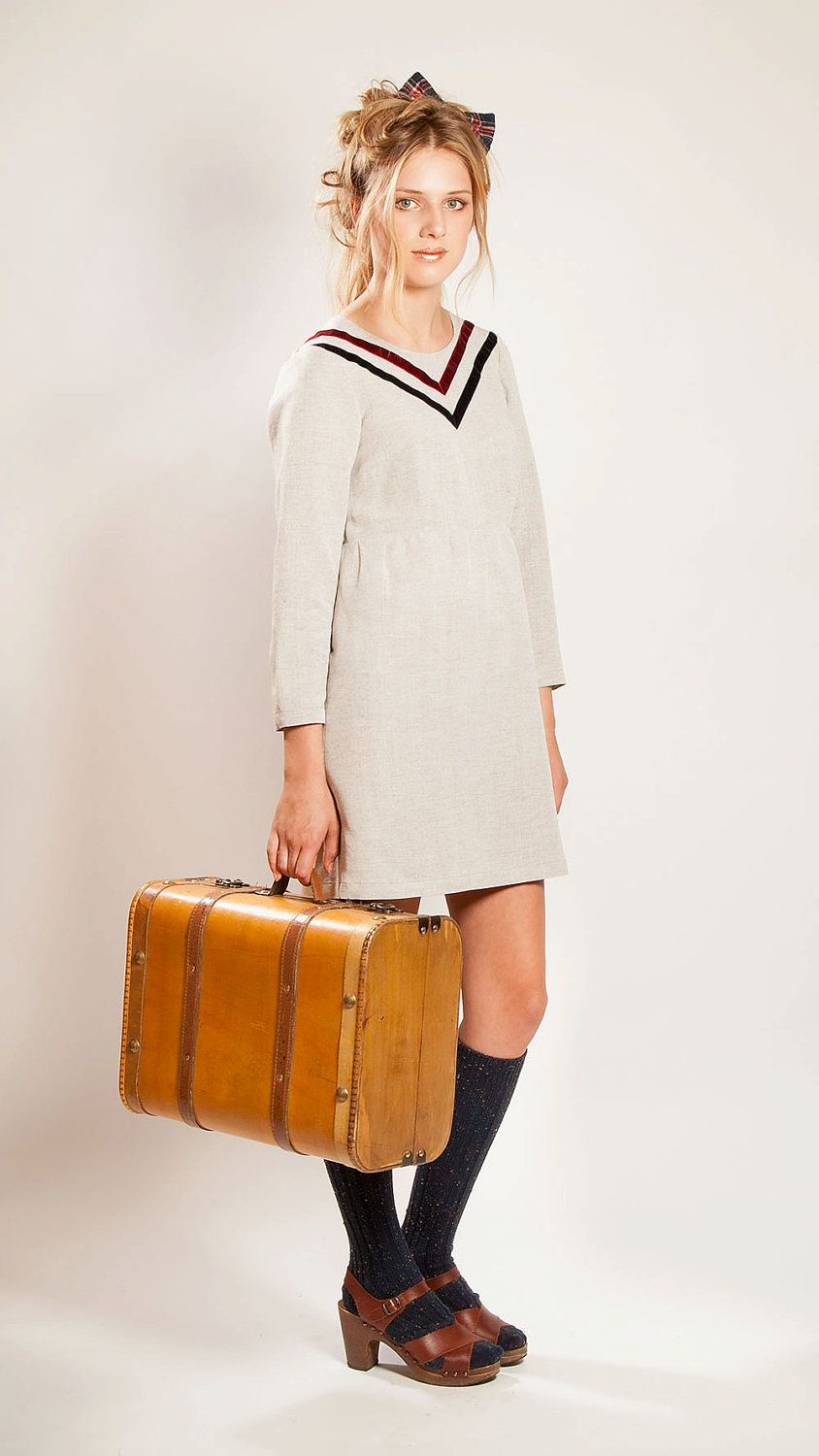 The umountain dwellersu cosy winter dress with by francesbakershop