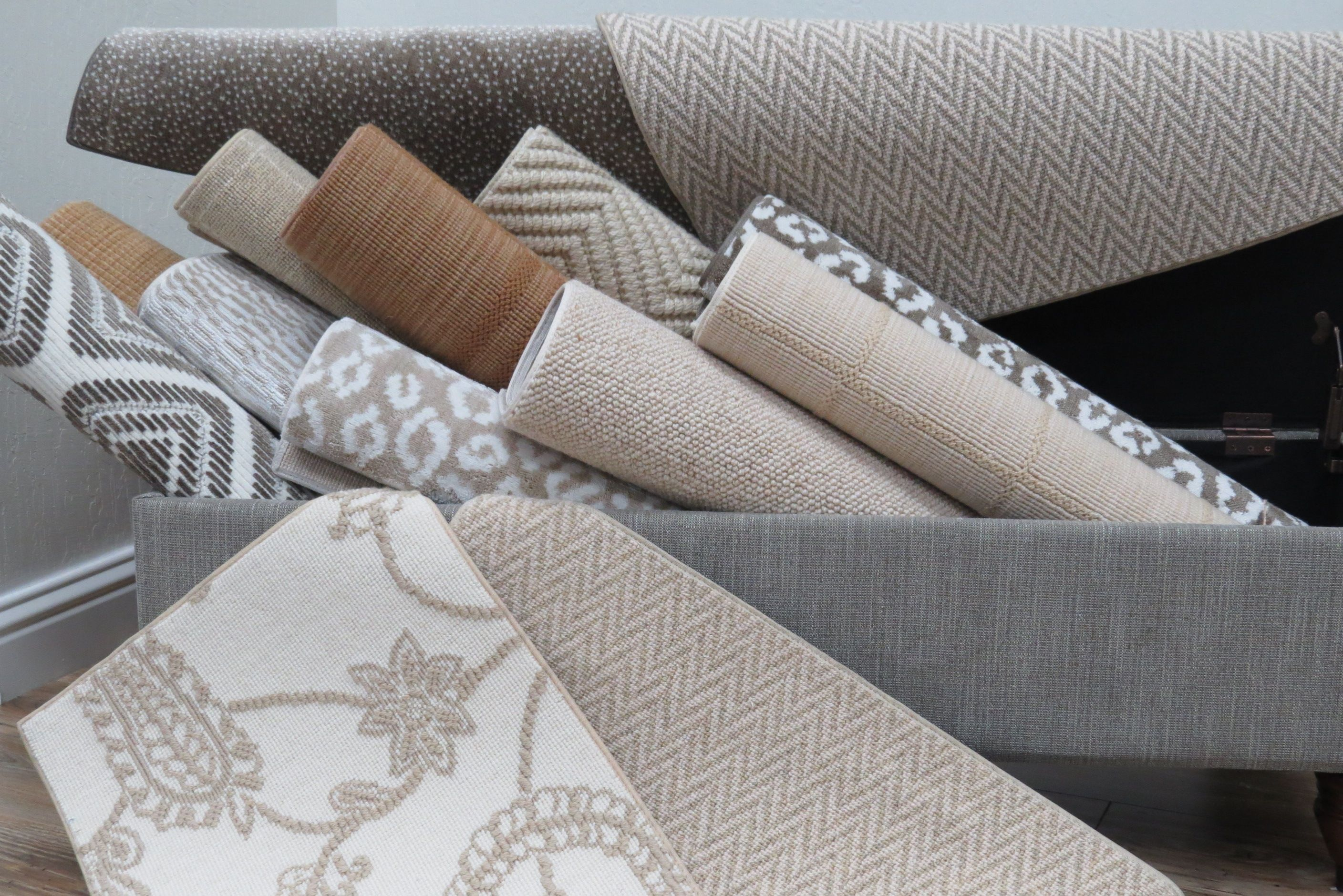 Bellbridge Carpets featured in a beautiful of neutral tones ranging from subtle beige to rich