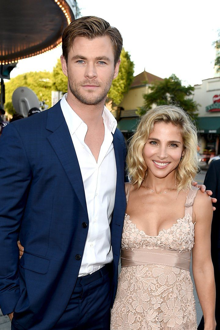 We're Imagining the Good Times Chris Hemsworth and Elsa ...