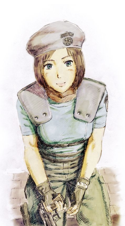Jill Valentine fan art