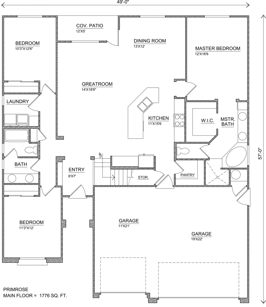 Primrose Perry Homes Southern Utah Perry Homes Home Design Floor Plans Floor Plan Design