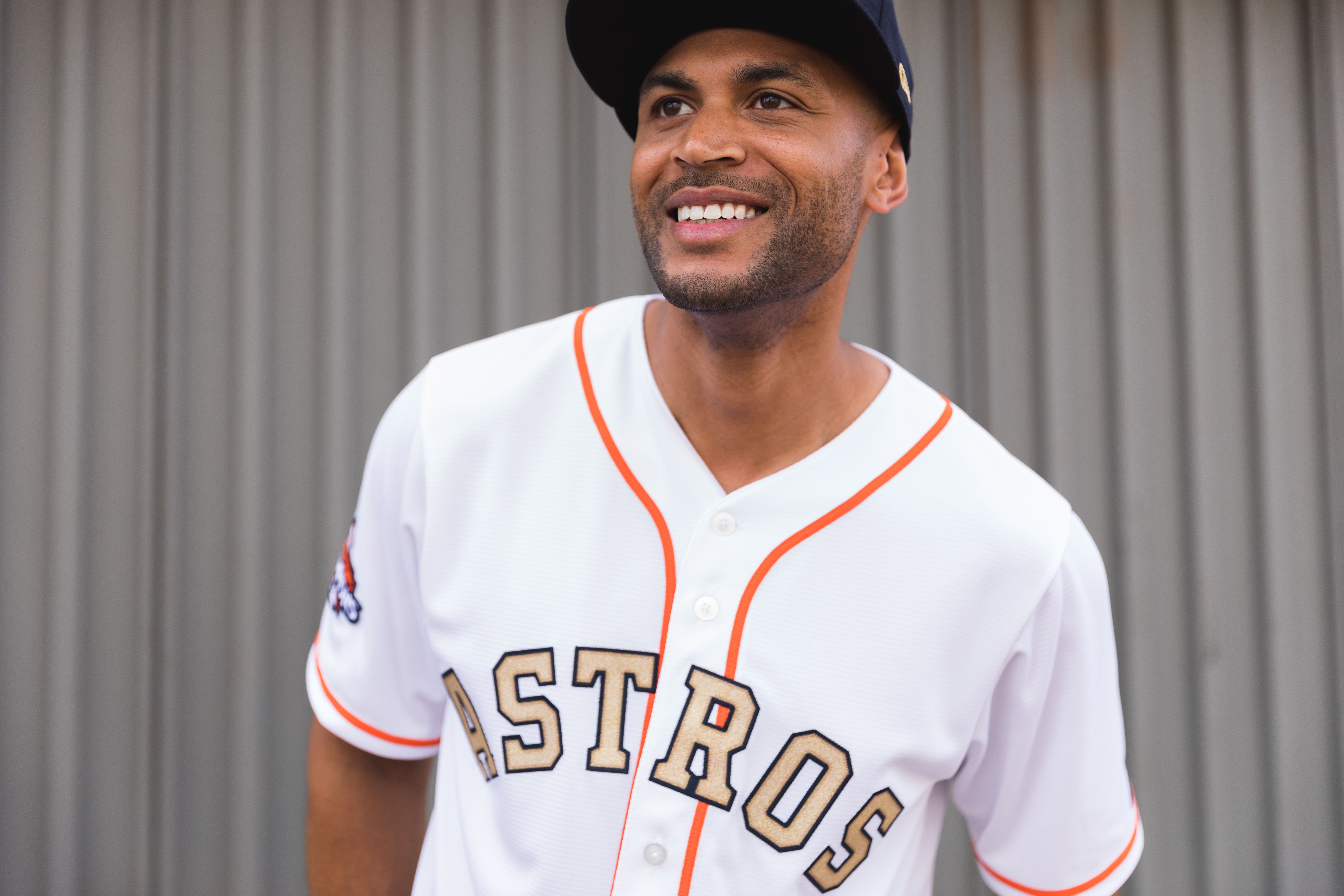 Celebrate The 2017 World Series Champions With The Limited Edition Houston Astros Gold Collection Jersey Stay Gold Astros Fans Mlb Apparel Jersey Men