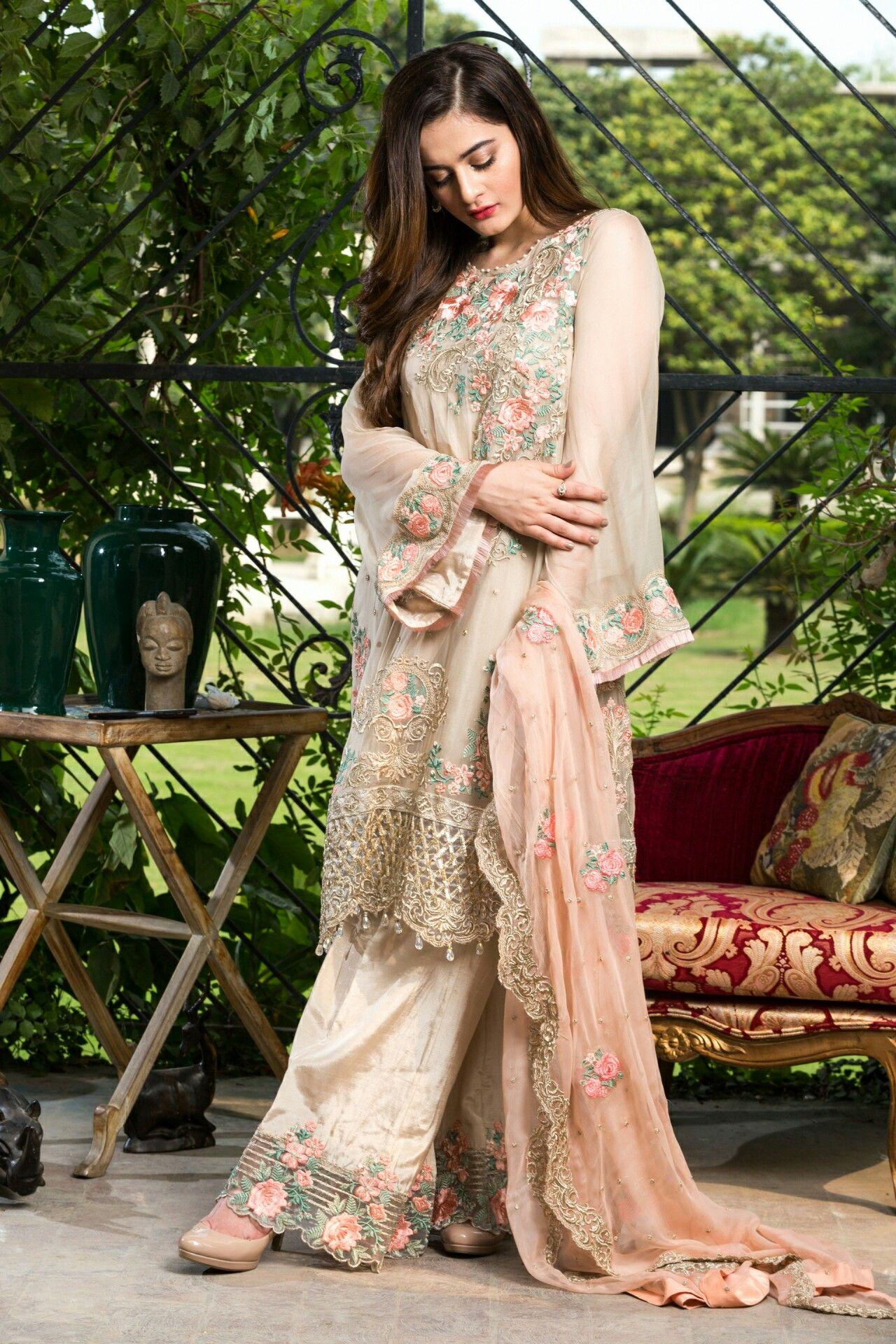 PAKISTANI | party wear dresses | Pinterest