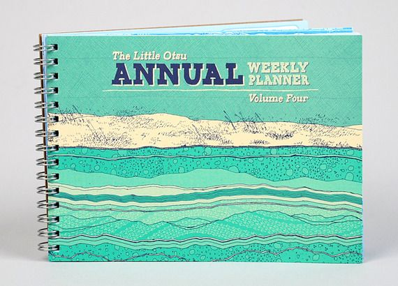Little Otsu Annual Weekly Agenda Planner Beautiful Agenda - annual agenda