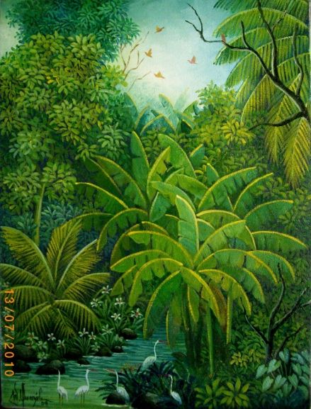 William Gonzalez Jungle Illustration Jungle Art