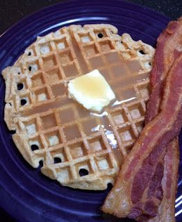 Michele's Woman Cave: Apple Cider Waffles