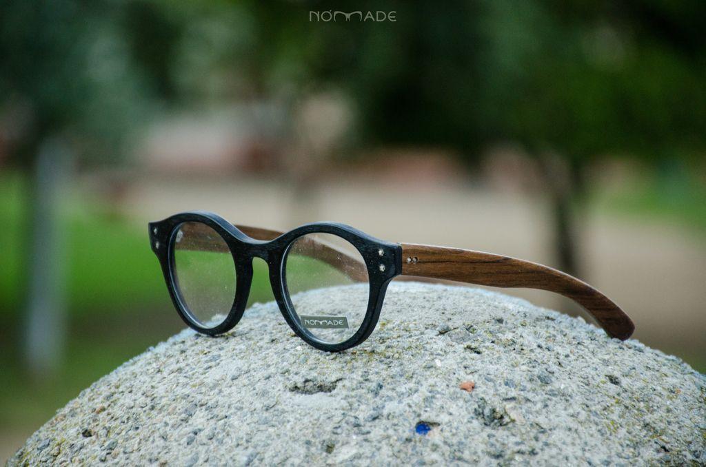 Anteojo de madera y acetato Santorini graduacion - Nomade