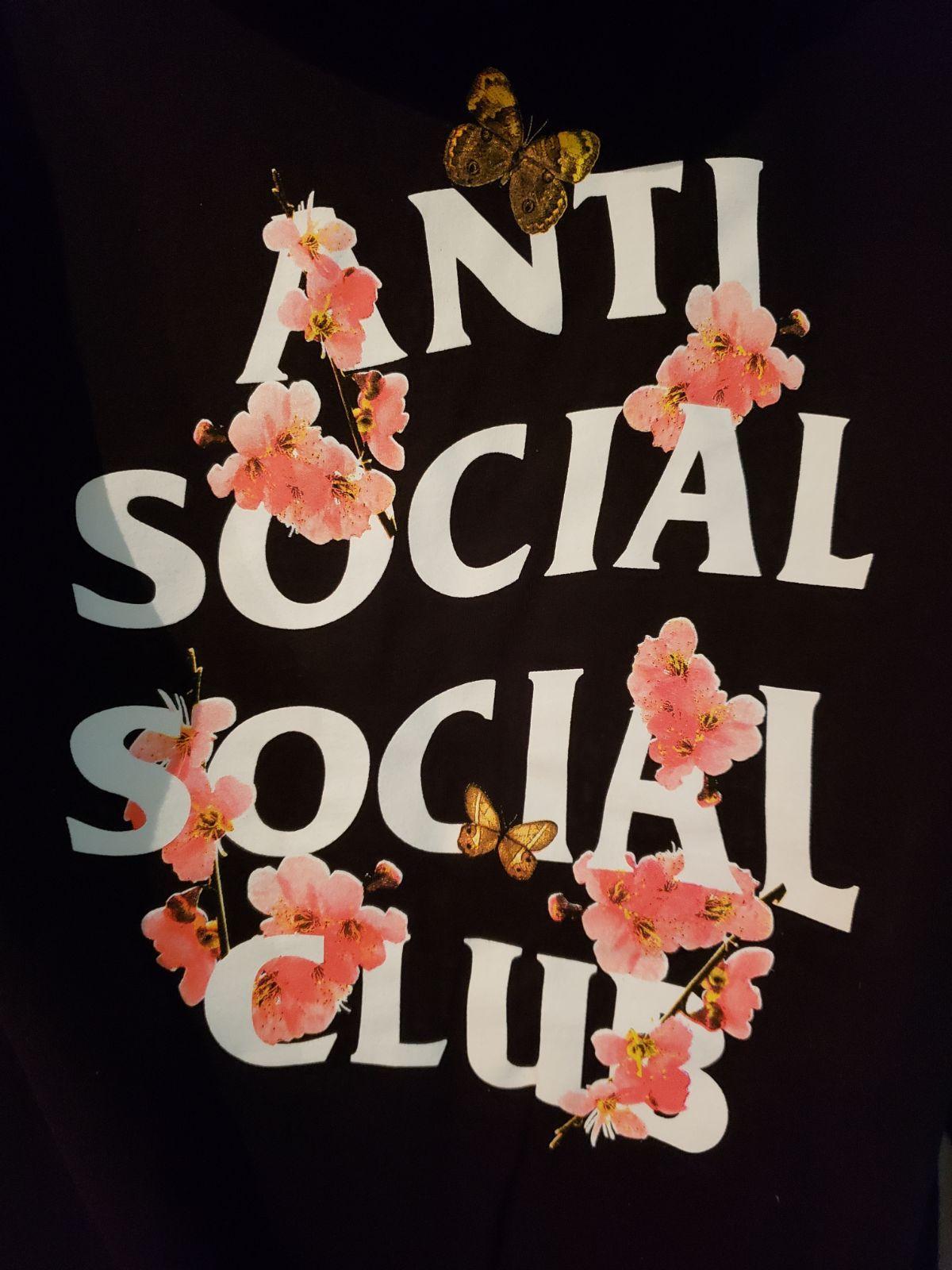 Floral Anti Social Social Club Hoodie Anti Social Social Club Anti Social Anti Social Social Club Hoodie