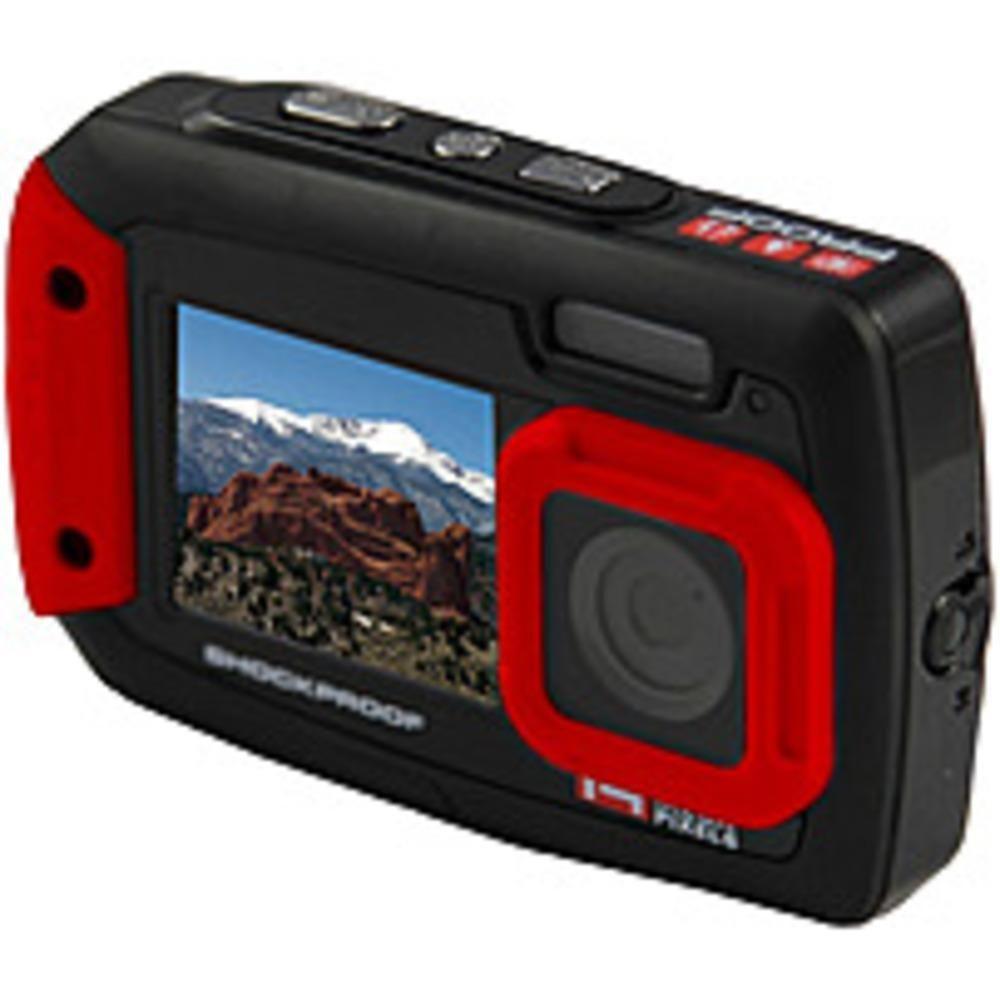 NOB iON Cool-iCam Tough Waterproof Shockproof Digital Selfie Camera - 14 MP  - 4x