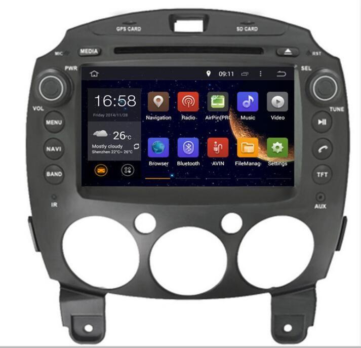 Ram 2gb Android 7 1 Fit Mazda 2 Mazda2 2007 2016 Car Dvd