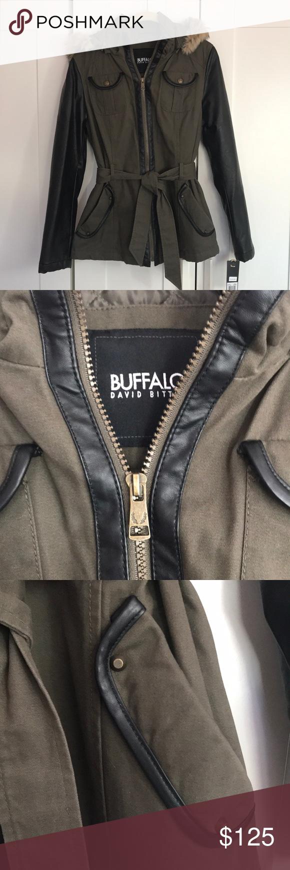 Nwt Buffalo David Bitton Parka Jacket Clothes Design Fashion Fashion Design [ 1740 x 580 Pixel ]