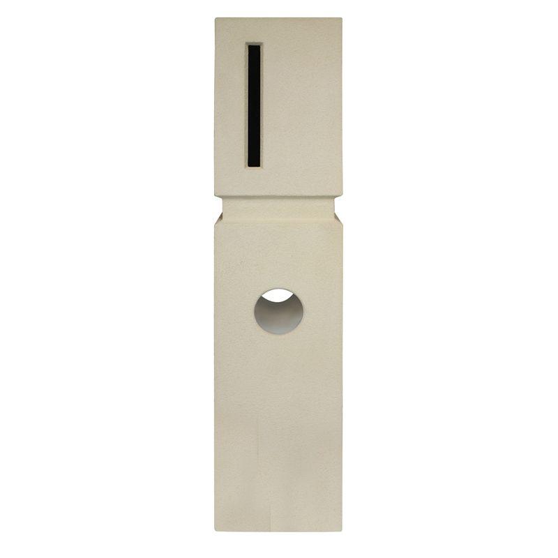Find Elite Letterboxes Vermont Cream Pillar Letterbox At