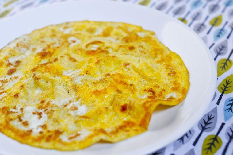 The One-Egg Omelette Recipe - Chocolate & Zucchini