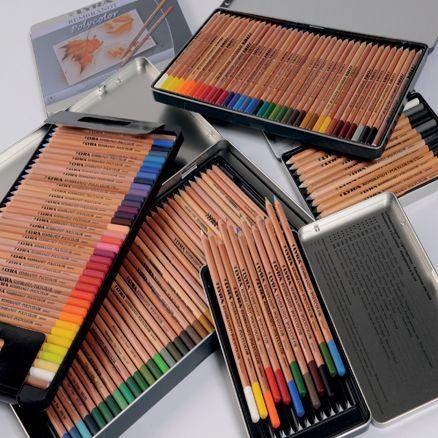 Lyra Coloured Pencils Coisas De Papelaria Cores Lapis De Cor