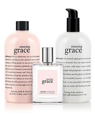 Philosophy Amazing Grace Spray Fragrance 4 Oz Reviews Makeup Beauty Macy S Philosophy Amazing Grace Philosophy Beauty Fragrance