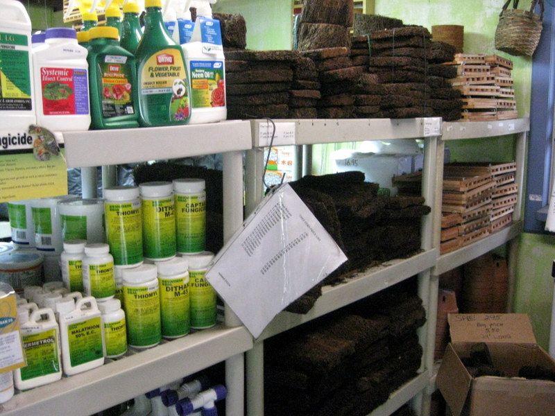 Green Barn Orchid Supplies Has Xaxim Nursery