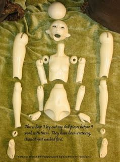 Ball Jointed Doll Bjd Step By Step Ball And Joint Ball
