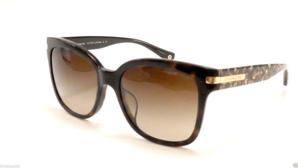 488c34f4ab8 ... order coach 5040 13 dark brown tortoise ocelot 8103f l544 alfie coach  sunglasses new coach designer
