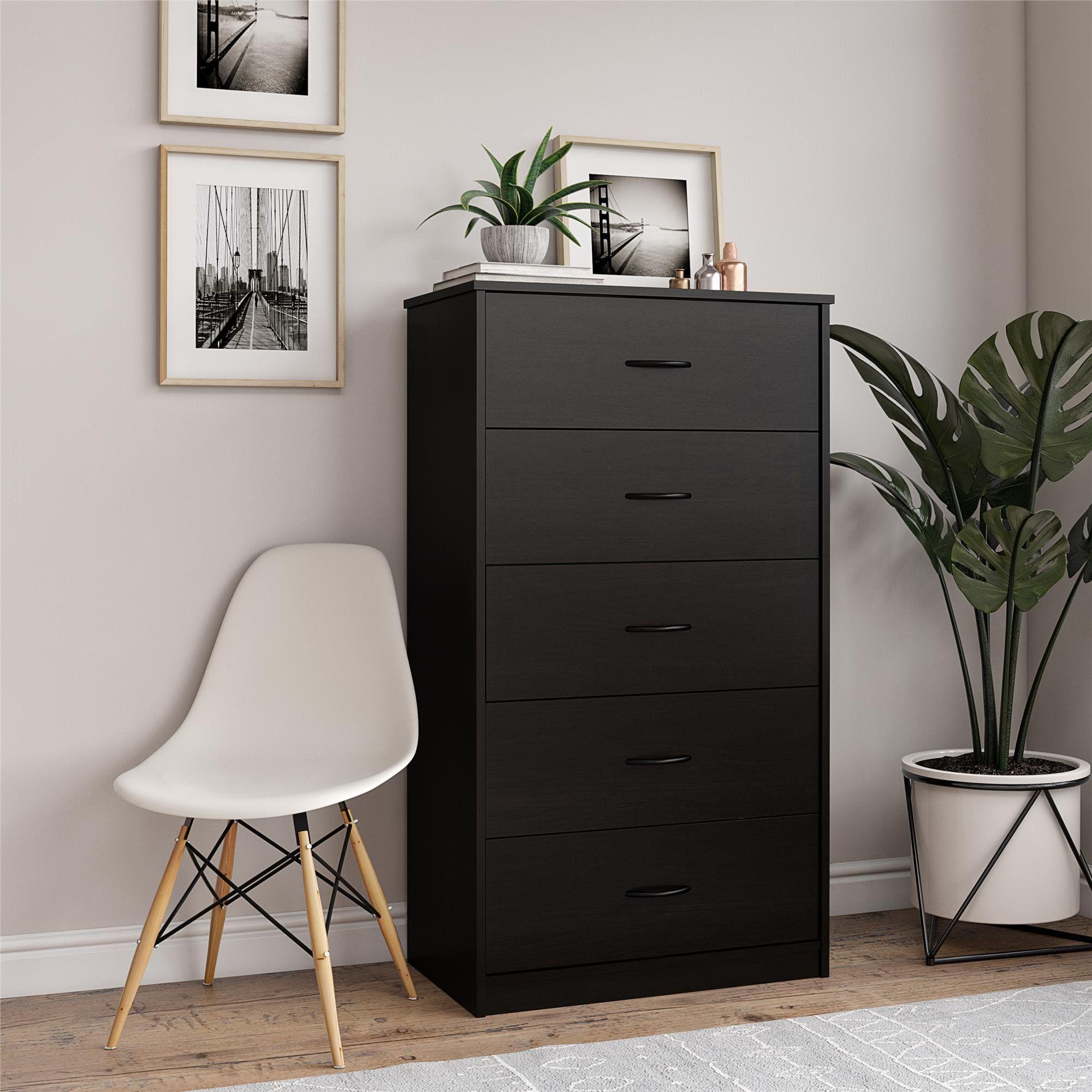 Mainstays Classic 5 Drawer Dresser Espresso Finish Walmart Com In 2021 Black Bedroom Design Black Bedroom Furniture Clothes Cabinet Bedroom [ 2000 x 2000 Pixel ]