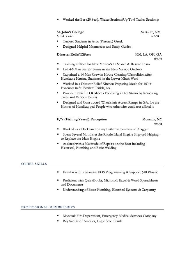 Restaurant Resume Server Free Resume Sample Resume Design Template Restaurant Resume Resume Template Examples