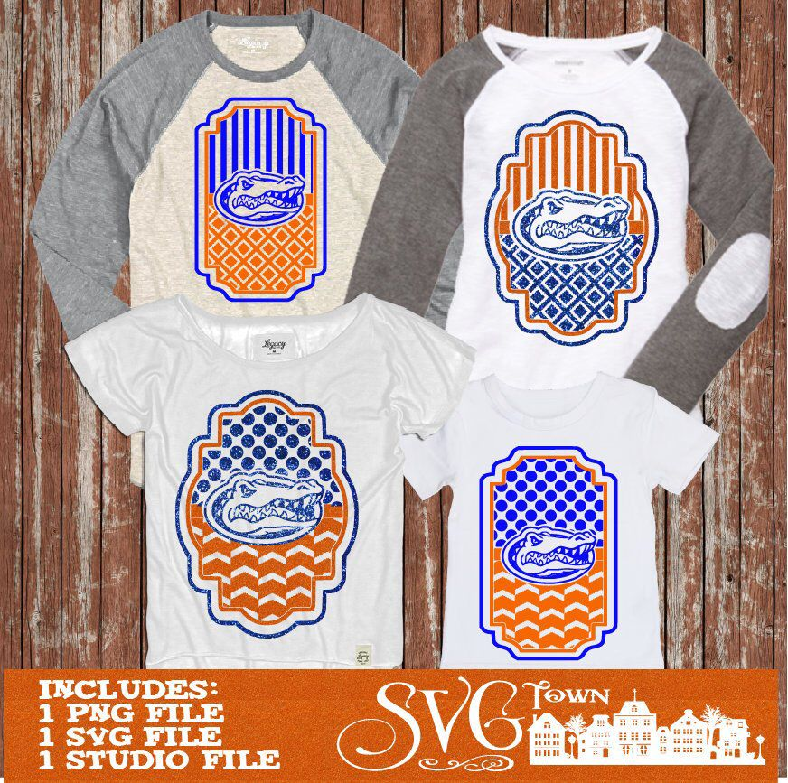 Pin by SVG UNIVERSE on Florida Gators Silhouette cutter