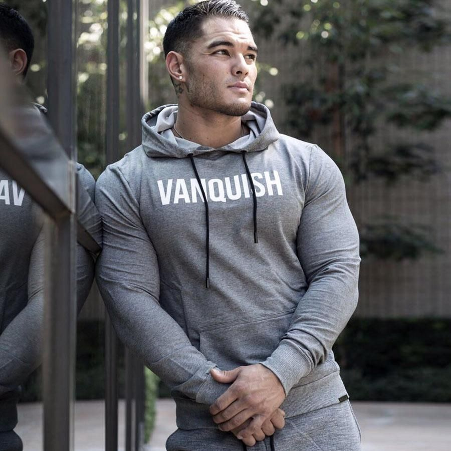 Men Gyms Hoodies Bodybuilding Casual Sweatshirt Muscle Men S Slim Fit Pullover Hoodies Men Cotton Shirts For Men Mens Outfits [ 900 x 900 Pixel ]