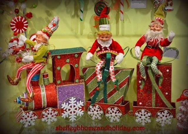 RAZ Christmas at Shelley B Home and Holiday: Christmas Elves ...